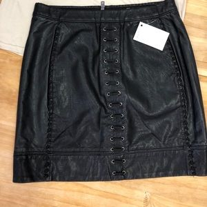 Blank nyc pleather skirt small 27